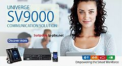 IP-PBX NEC UNIVERGE SV9100 Communications Server is a Unified Communications solution